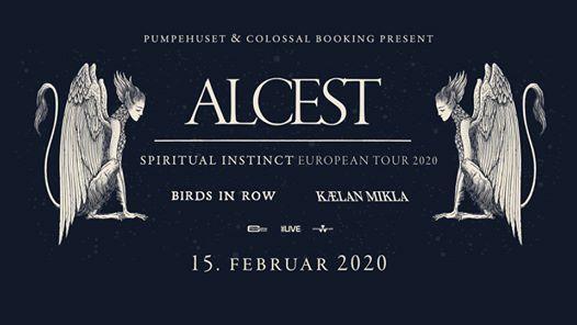 Alcest (support Klan Mikla Birds in Row) - Pumpehuset