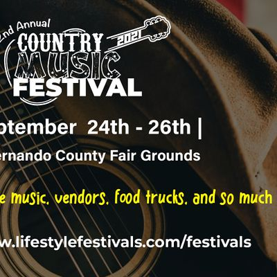 2nd Annual Country Music Festival