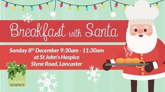 Breakfast with Santa at St Johns Hospice