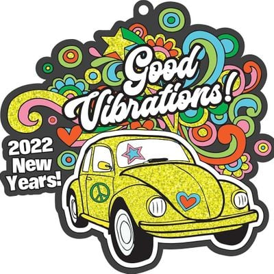 New Year Good Vibrations 1M 5K 10K 13.1 26.2-Save 2