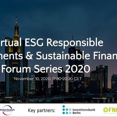 5th Virtual ESG Investments & Sustainable Finance Forum Frankfurt 2020