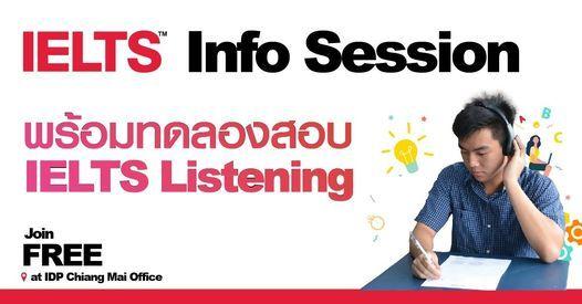 Free IELTS Info Session สำหรับชาวเชียงใหม่เจ้า, 2 June   AllEvents.in