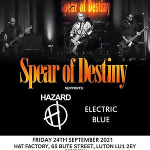 Spear Of Destiny - live at Hat Factory Luton 24th Sept 2021