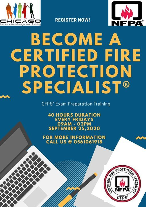 Certified Fire Protection Specialist CFPS Training | Event in Dubai | AllEvents.in