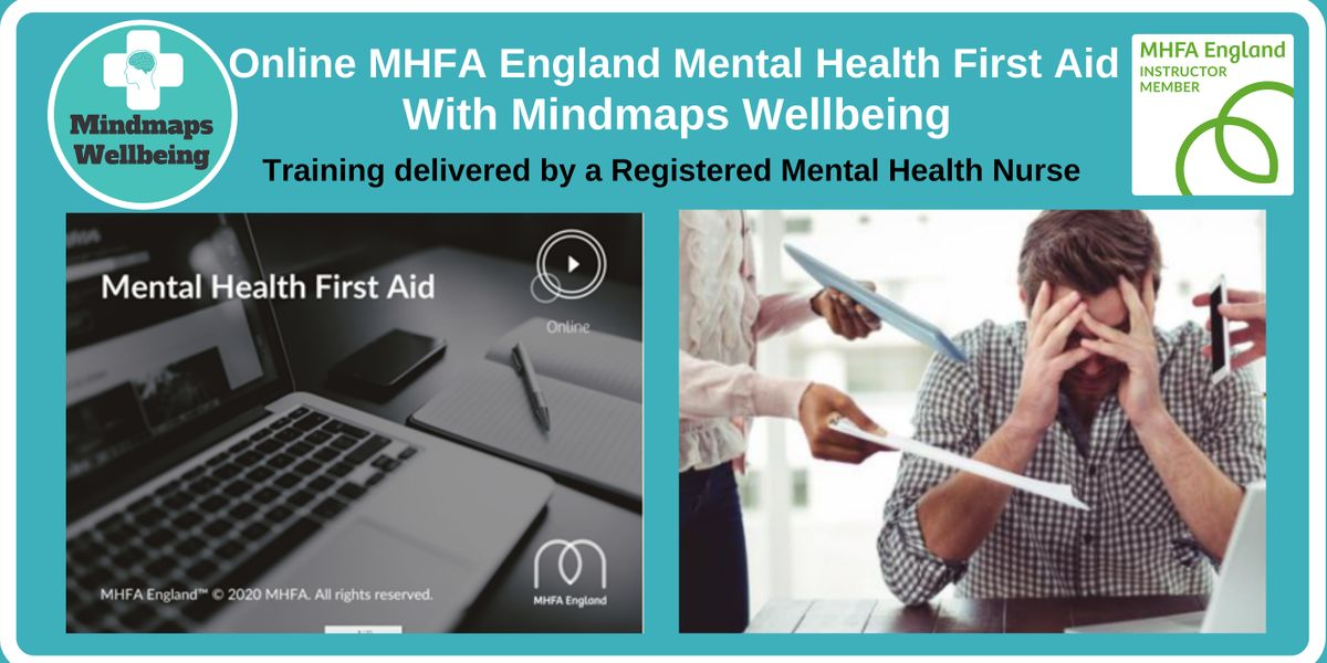 Online MHFA England Mental Health First Aid 26 Feb & 5 Mar | Online Event | AllEvents.in