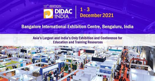 DIDAC INDIA 2021, 1 December   Event in Bangalore   AllEvents.in