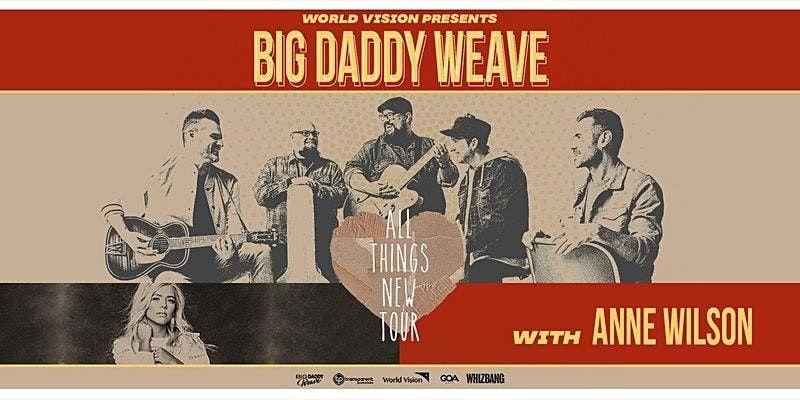 Big Daddy Weave - World Vision Volunteer - ELIZABETHTOWN, KY, 20 October   Event in Elizabethtown   AllEvents.in