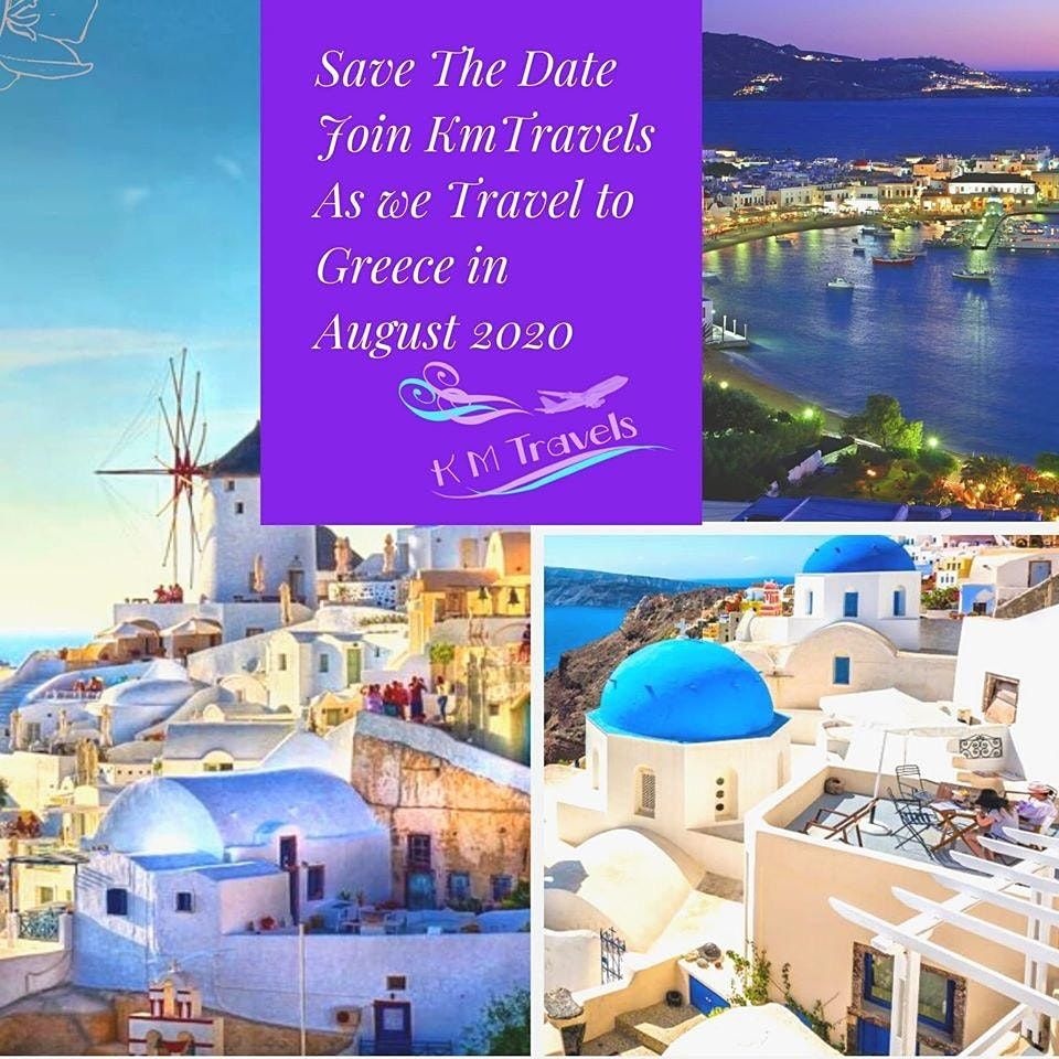 2020  KmTravels TravelEscape To Greece Tour