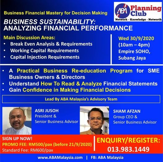 Business Financial Mastery Analyzing Financial Performance