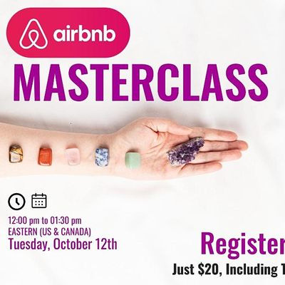 Learn How to Earn Extra Money Being an Airbnb Experience host Masterclass