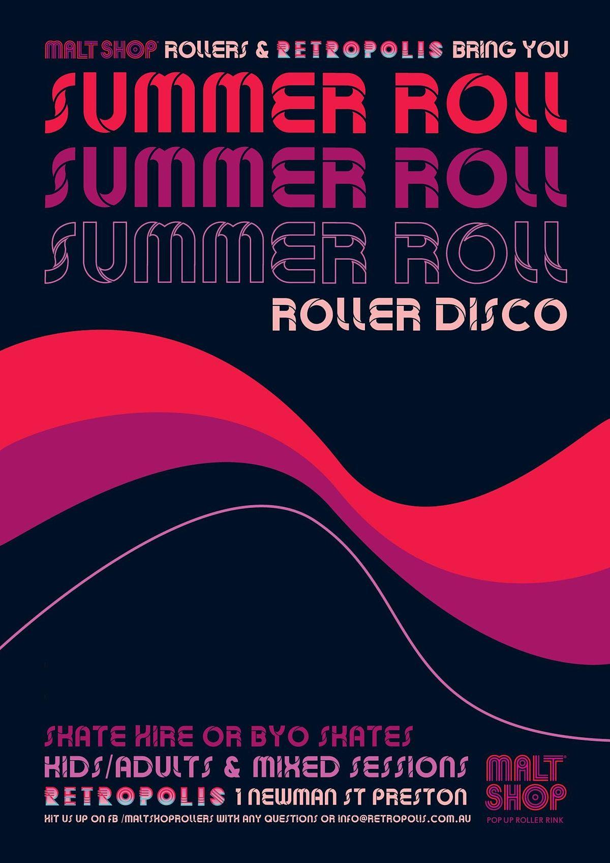 Summer Roll - a Retropolis ROLLER DISCO   Event in Preston   AllEvents.in