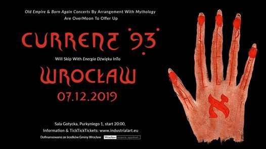 Current 93 at Energia Dwiku SOLD OUT