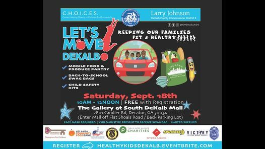 Let's Move DeKalb Mobile Food & Back-to-School Giveaway | Event in Decatur | AllEvents.in