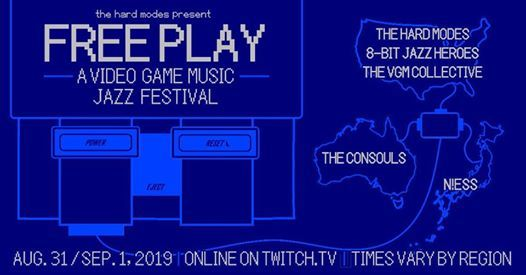 Free Play | Video Game Music Jazz Festival at Online (see