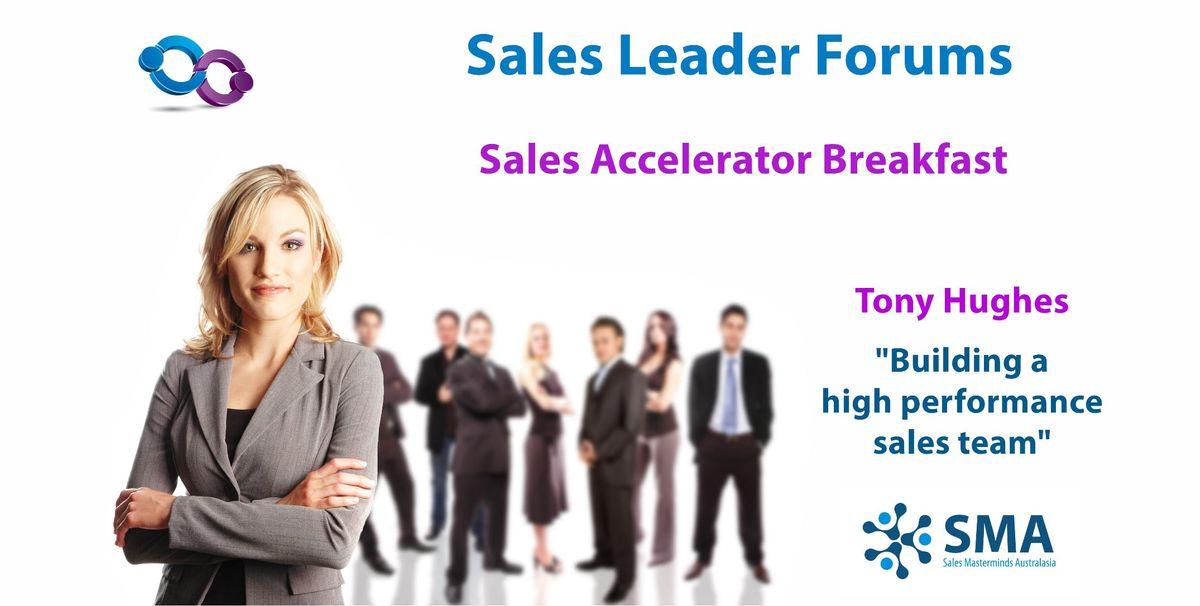 Building a High Performance Sales Team (Sydney)