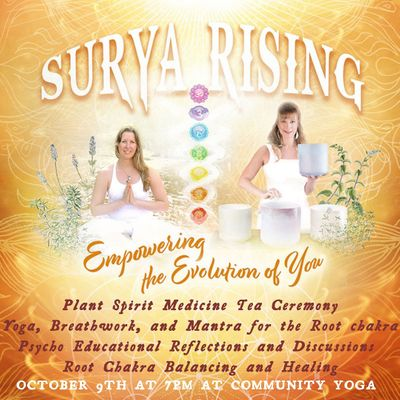 Surya Rising Sacred Chakra Retreat