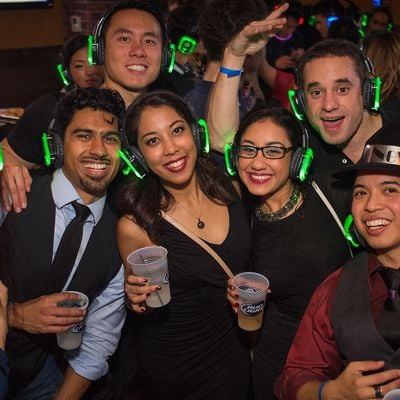First Silent Disco of The New Year