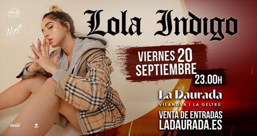 Lola Indigo en concierto
