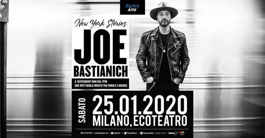 Joe Bastianich New York Stories a Milano