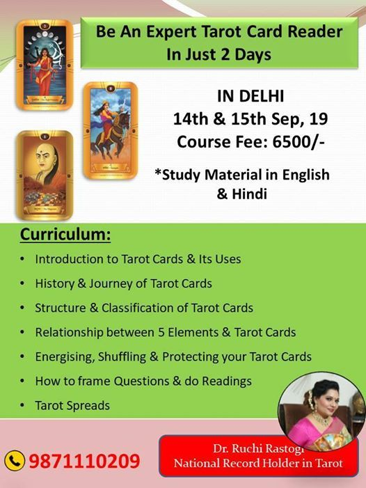 Tarot Card Reading Workshop/ Class - 2 Days at Bblessed, New