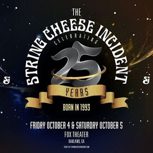 The String Cheese Incident at Fox Theater - Two Nights