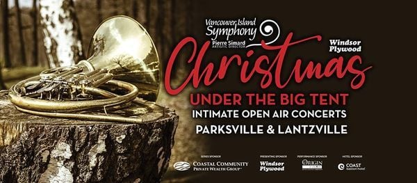 Intimate Open Air Christmas Concerts Vancouver Island Symphony Nanaimo 6 December 2020