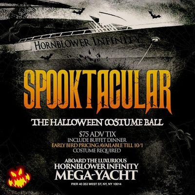 Hornblower Spooktacular Halloween Costume Ball