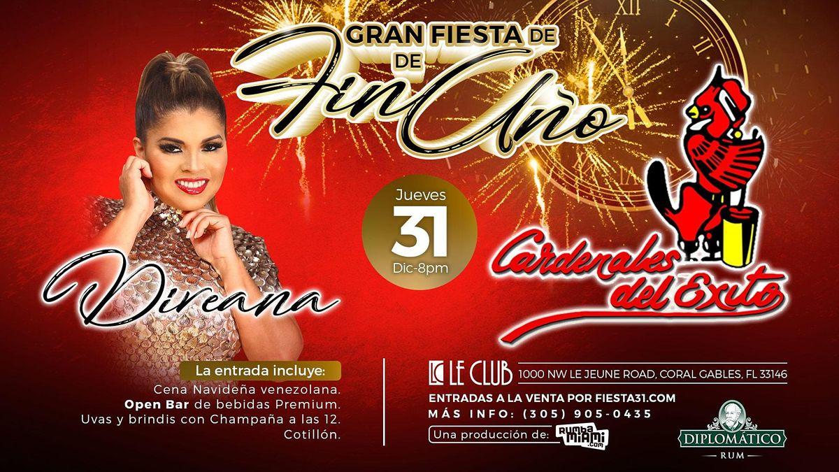 ¡Gran Fiesta de Fin de Año con Cardenales del ´Exito y Diveana!, 31 December | Event in Miami | AllEvents.in