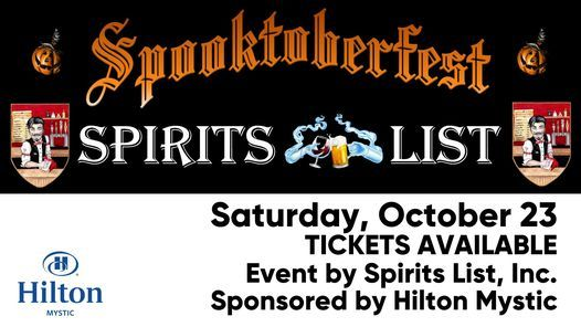 Spooktoberfest Beer Fest | Event in Mystic | AllEvents.in
