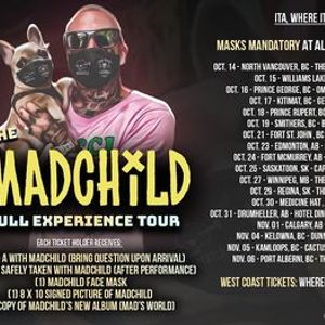 Madchild Live in Thunder Bay Nov 28th at Atmos with sg Robbie G