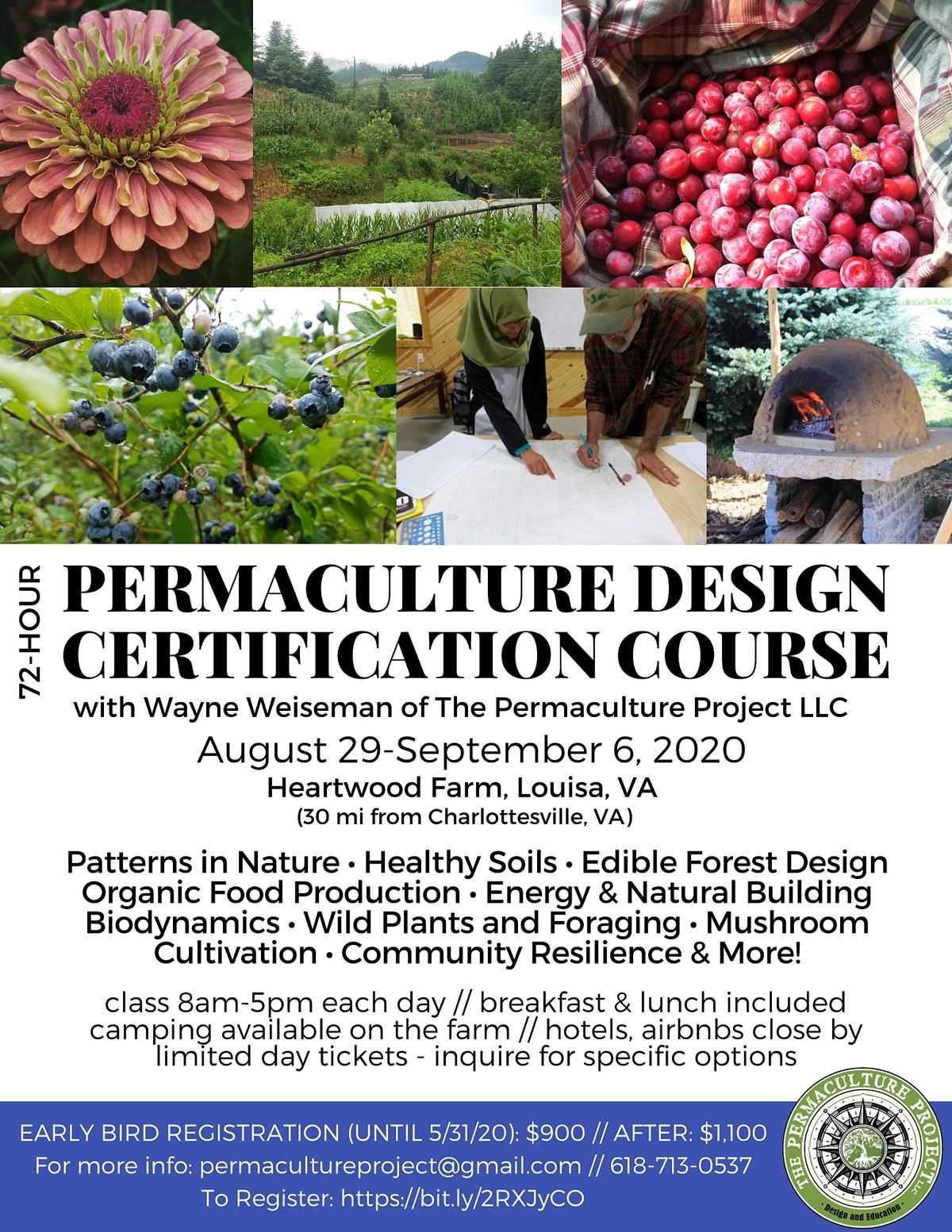 72-Hour Permaculture Design Certification Course with Wayne Weiseman