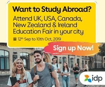 Want to Study Abroad Attend UK USA Canada New Zealand & Ireland Education Fair in Chandigarh