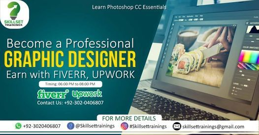 Become a Creative Graphics Designer With Top Rated Freelancers, 1 February   Event in Gujranwala   AllEvents.in