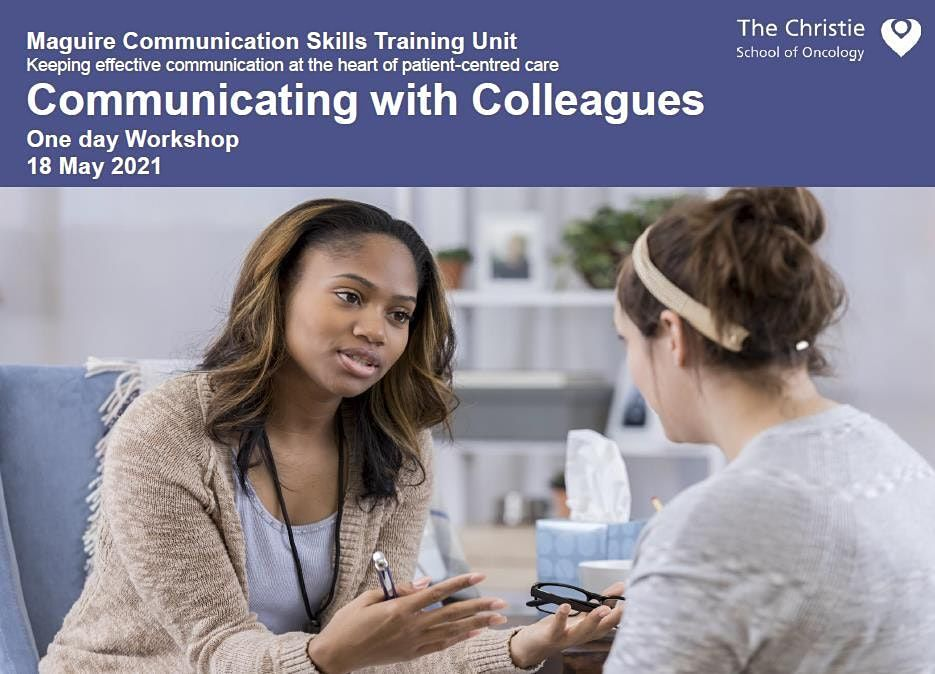 Communicating with Colleagues - May 2021, 18 May | Event in Stockport | AllEvents.in