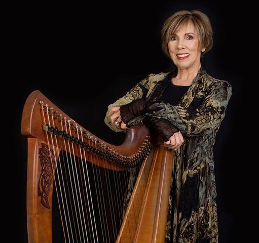 Konzert Irische Harfe Gesang und Geschichten mit Hilary ONeil
