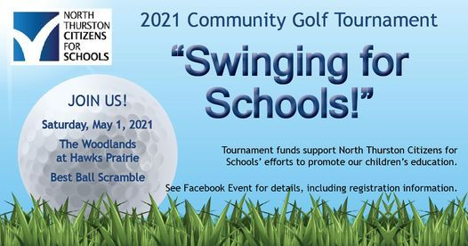 Swinging for Schools Golf Tournament, 1 May | Event in Lacey | AllEvents.in