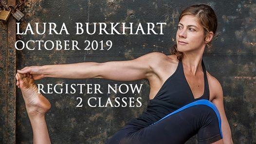 Laure Burkhart at Satsang Yoga