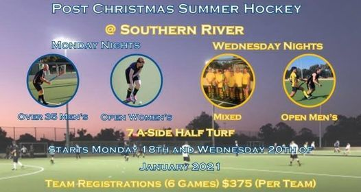 Senior Summer Hockey 2021 | Event in Perth | AllEvents.in