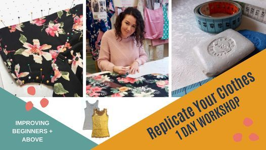 Replicate Your Favourite Clothes workshop in Hove, 6 March | Event in Brighton | AllEvents.in