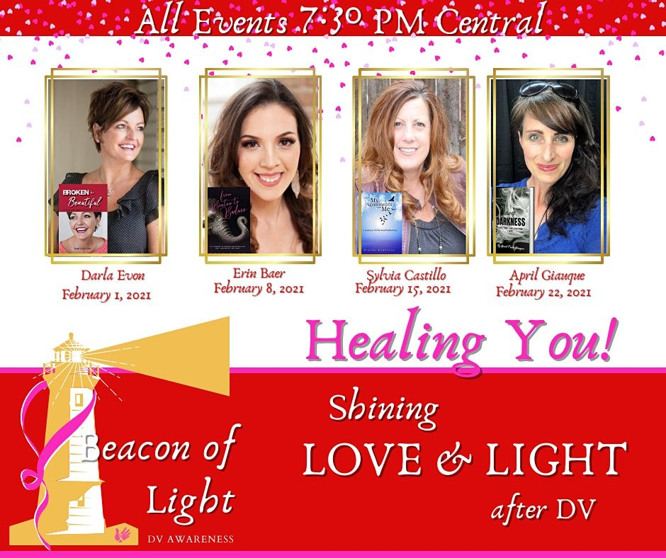 Healing YOU! Shining Love and Light After DV | Online Event | AllEvents.in