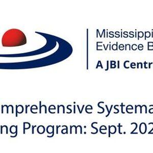 JBI Comprehensive Systematic Review Training Program