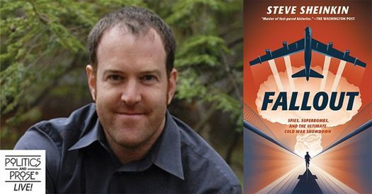 P&P Live! Steve Sheinkin   Fallout, 20 September   Online Event   AllEvents.in