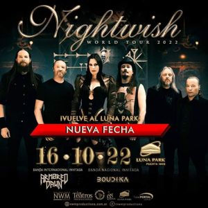 Nightwish en Argentina - Estadio Luna Park (16102021)