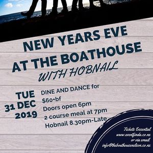New Years Eve at The Boathouse with Hobnail