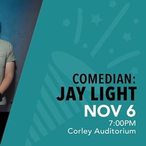 Comedian Jay Light
