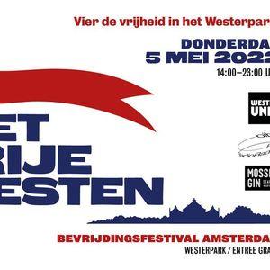 Bevrijdingsfestival Amsterdam Het Vrije Westen 2022