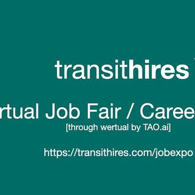 TransitHires Virtual Job Fair  Career Expo Event Phoenix