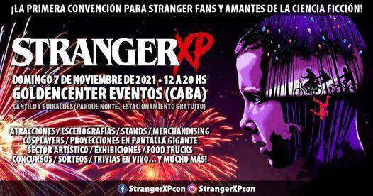 Stranger XP - 1ra Edición, 18 April | Event in Martínez | AllEvents.in
