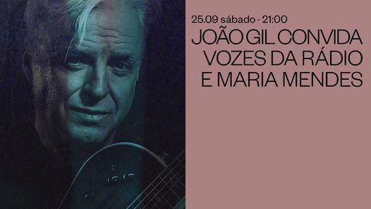 João Gil convida Vozes da Rádio e Maria Mendes, 25 September | Event in Porto | AllEvents.in