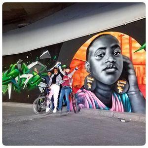 Jozi Graffiti & Street Art Cycle Tour